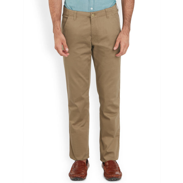 ColorPlus Medium Brown Men's Trouser