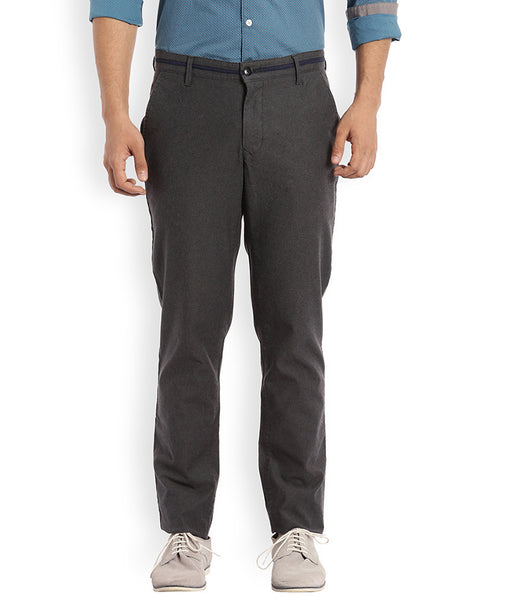 ColorPlus Dark Brown Men's Trouser