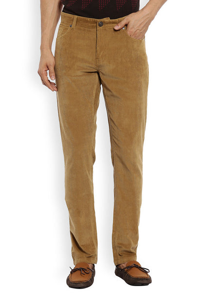 ColorPlus Medium Khaki Men's Trouser