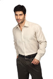 ColorPlus Beige Men Shirt