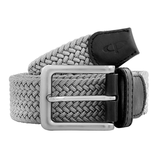 ColorPlus Medium Grey Leather Belt