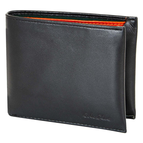 ColorPlus  Black  Leather Wallets Men