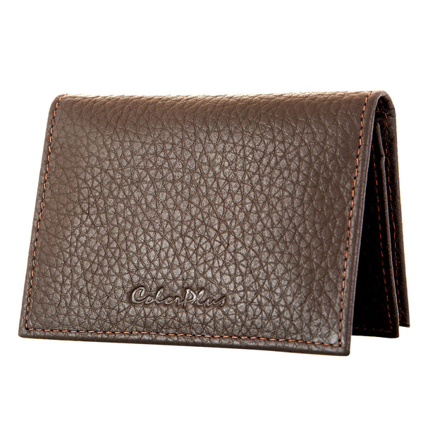 ColorPlus Medium Brown Leather Wallets