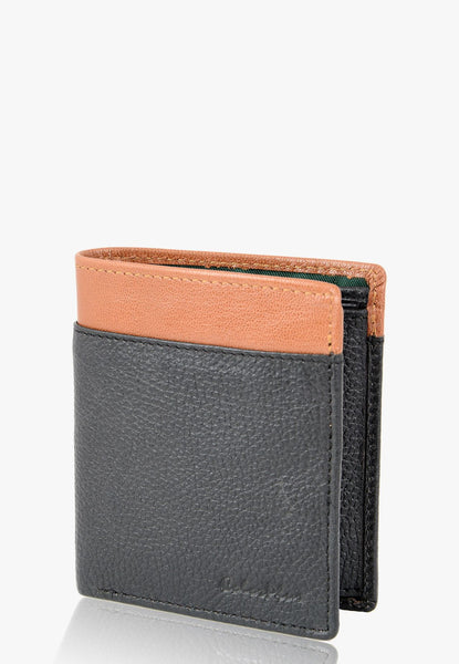 ColorPlus Brown  Leather Wallets Men