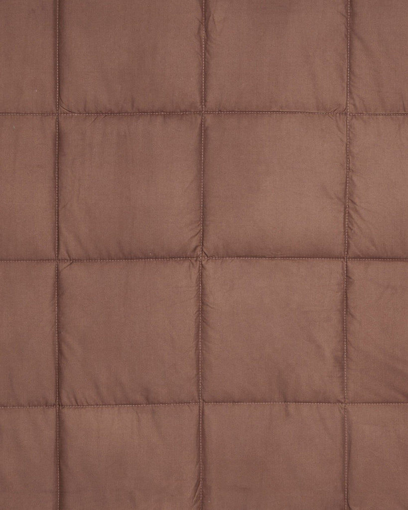 Brown Double Quilt