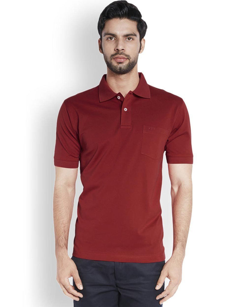 ColorPlus  Red Classic Fit T-Shirt