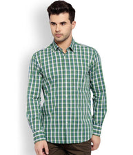 ColorPlus  Green Tailored Fit Shirt