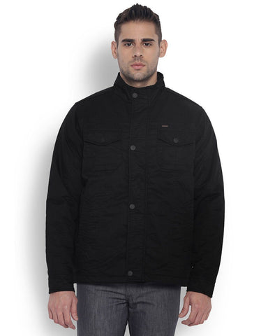Park Avenue Black Regular Fit OuterWear