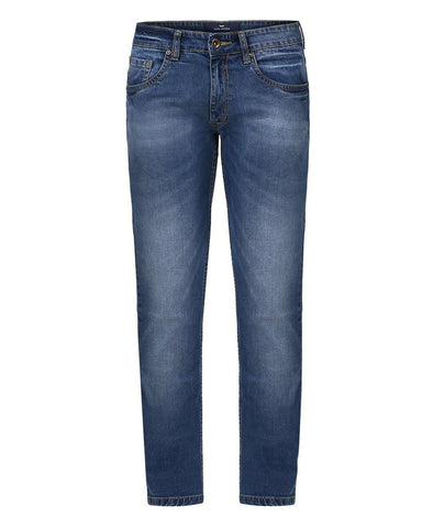 Park Avenue Blue Low Rise Tapered Fit Jeans