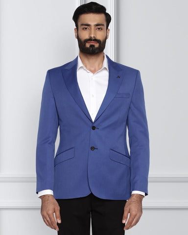 Raymond Dark Blue Italian Cut Jacket
