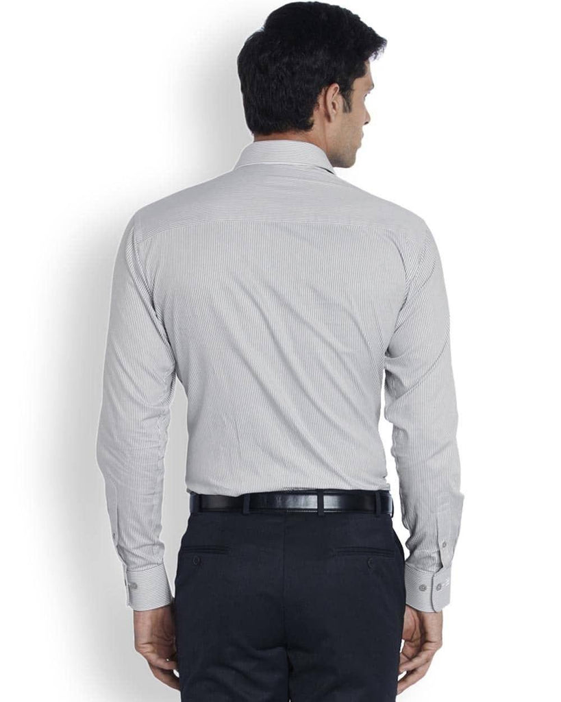 Raymond  Light Grey Contemporary Fit Shirt
