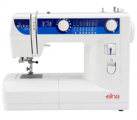 Elna Explore 220 (220Ex) Sewing Machine - FLASH SALE UNTIL 18/02, SUBJECT TO STOCK