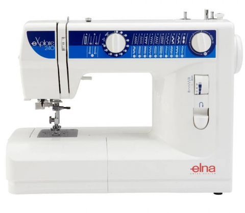 Elna Explore 240 (240Ex) Sewing Machine - FLASH SALE UNTIL 18/02, SUBJECT TO STOCK