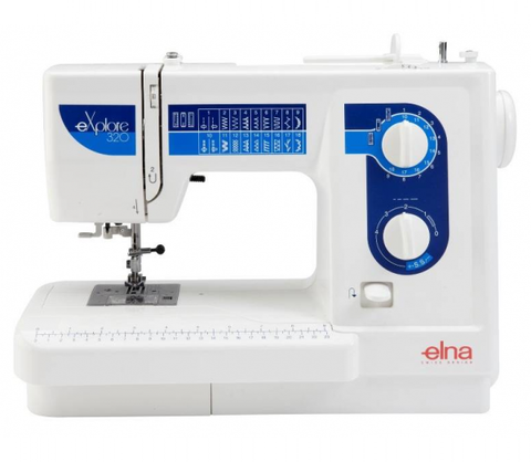 Elna Explore 320 (320Ex) Sewing Machine - FLASH SALE UNTIL 18/02, SUBJECT TO STOCK