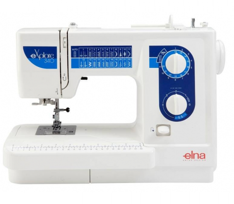 Elna Explore 340 (340Ex) Sewing Machine - FLASH SALE UNTIL 18/02, SUBJECT TO STOCK