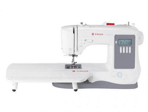 Singer 7640 Confidence Sewing Machine - 2019 model, 200 Stitches With Alphabet + Free Extension Table