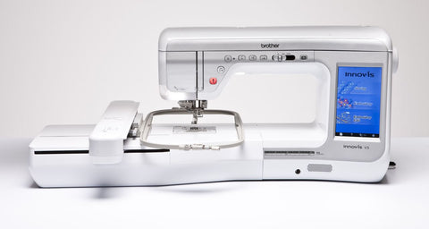 Brother Innov-is V5 Sewing & Embroidery Machine  AUGUST OFFER PLUS FREE PREMIUM PACK 1 AND 2