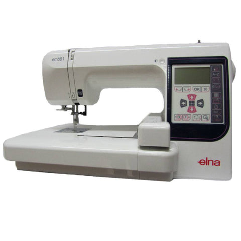 Elna Embroidery 81 Special November Promotion by Janome (Embroidery machine) 5 year guarantee