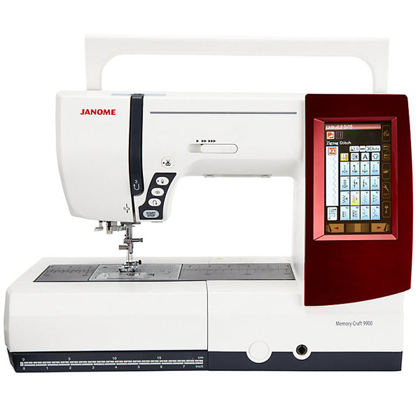 Janome Memory Craft 9900 (Sewing & Embroidery Machine) - MC9900 Showroom model