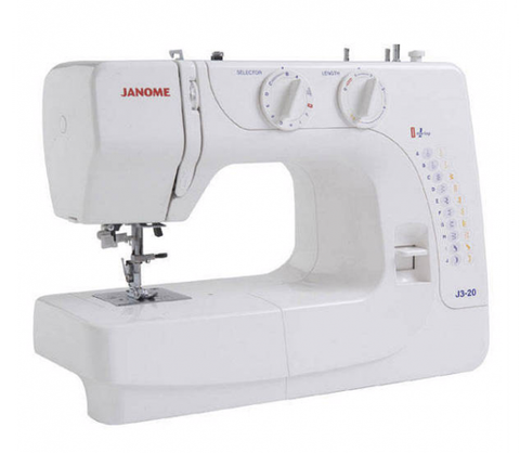 Janome J3-20 Sewing Machine * Drop Feed + 1 Step Buttonhole *