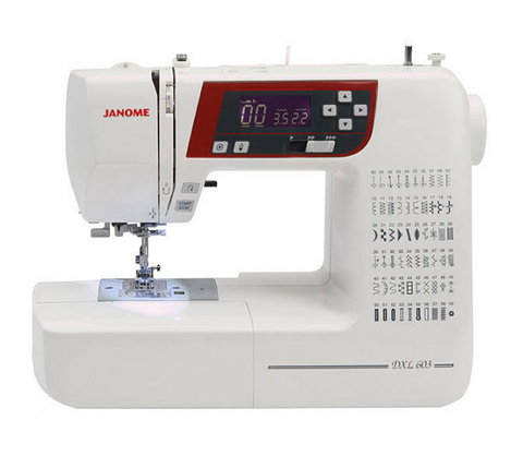 Janome DXL603 - Sewing with Style offer ENDING SOON - save £70 + FREE JQ2 Quilting kit with Extension table worth £119