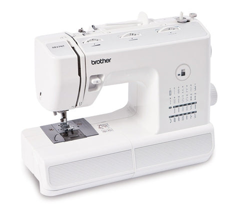 Brother XR27NT Sewing Machine - 27 Stitches, Auto Needle Threader, 1 Step Buttonhole, Stitch Length And Width Control - Offer With Free Get To Know Your Sewing Machine Book (Zbookuk2)