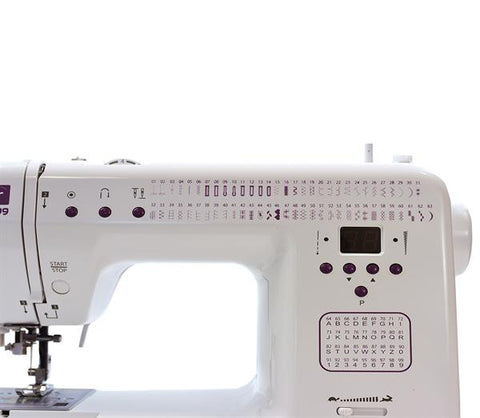 Decor Pro 99 - 100 stitches, alphabet - Showroom model