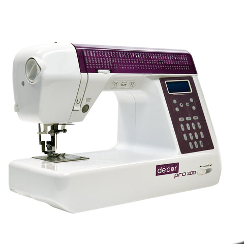 Decor Pro 200 - HARD COVER, EXTENSION TABLE AND QUILTING KIT - Showroom Model
