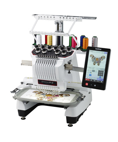 Brother PR1050X - 10 needle Embroidery Machine