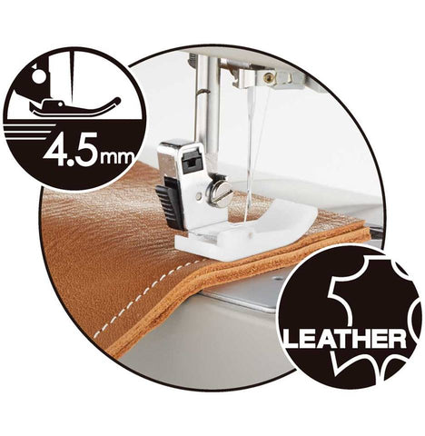 Toyota Power FabriQ 17 Sewing Machine * Recommended Heavy Duty Model * Sews Silk to Leather