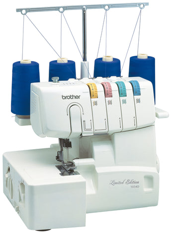 Brother 1034D Overlocker + Blind hem foot, Piping foot and Gathering foot worth £81