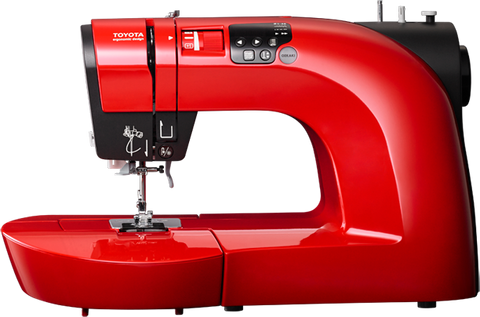 Toyota Oekaki Renaissance In Red Sewing Machine - Sewing & Free Motion Embroidery Machine (Showroom Model)