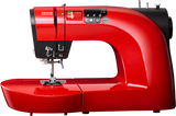 Toyota * Power Range * Oekaki Renaissance In Red Sewing Machine - Sewing & Free Motion Embroidery Machine