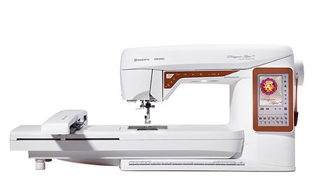 Viking Husqvarna Topaz 40 Sewing Machine with Embroidery System