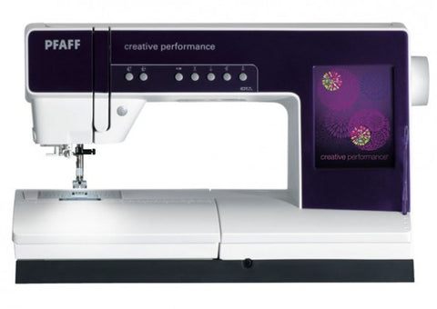 Pfaff Creative 4.5 Sewing Machine + LARGE EMBROIDERY UNIT (with 3 hoops)