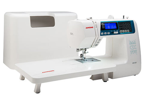 Janome 4300 QDC - includes Bonus pack with Extension table + Hard Cover (this is the replacement for the TXL607 and QC range)