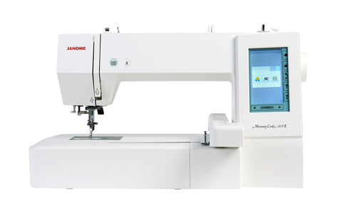 Janome Memory Craft 400E Embroidery Machine - Showroom model