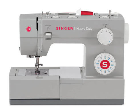 Singer Heavy Duty 4423 + FREE Walking foot worth £29.99 (with 23 stitch patterns, auto needle threader, drop feed)