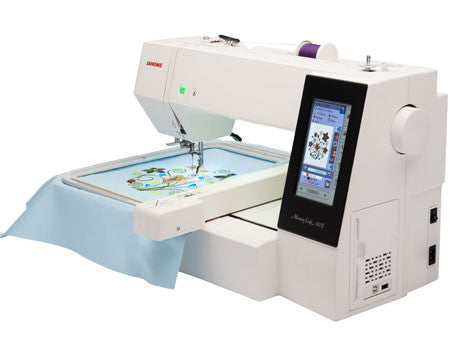 Janome Memory Craft 500E Embroidery Machine - Showroom Model