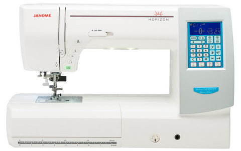 Janome Horizon 8200QCP - save £200 + Free 96 reel Janome Mettler Seralon Thread Pack worth £199