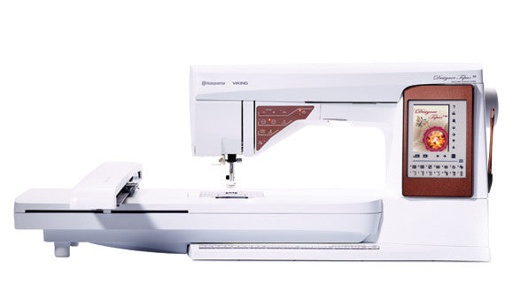 Viking Husqvarna Topaz 50 with Embroidery system - Chat online for discounts