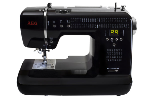 AEG 300 Midnight Limited Edition with Extension Table - ORDER FOR FREE UPGRADE TO NEW NECCHI NERO MODEL