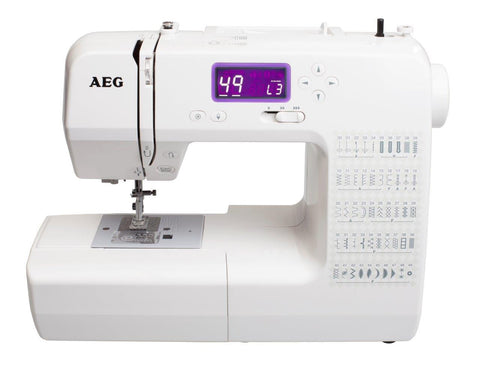 AEG 70X - 50 stitch patterns, Strong, super simple to use! FREE EXTENSION TABLE AND QUILTING PACK