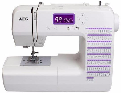 AEG Platinum 75X (Sew with or without pedal (99 stitch patterns) - FREE QUILTING AND EXTENSION TABLE