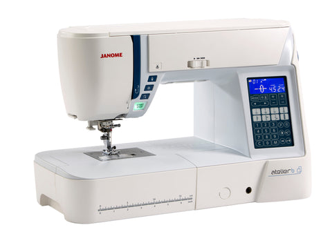 Janome Atelier 6 Sewing Machine * Ideal For Quilting + Alphabet And Number Sewing with Dual Feed * replacement for Atelier 5 model