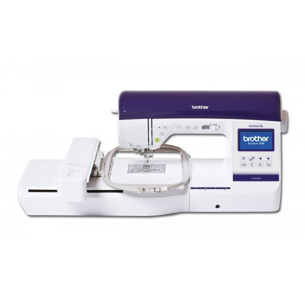 Brother Innov-is 2600 Sewing & Embroidery - January Offer -  FREE PE DESIGN PLUS and 40 PIECE THREAD SET worth £432.99