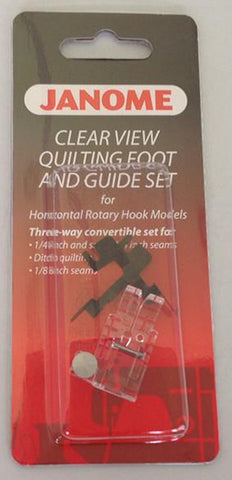Janome Clear View Quilting Foot and Guide Set - Category B/C 200449001