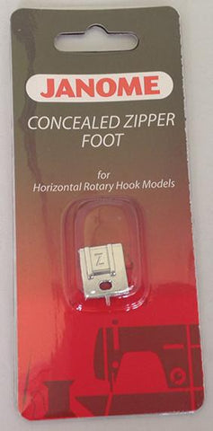 Janome Concealed Zipper Foot - Category B/C 200333001