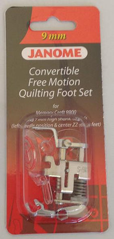 Janome Convertible Free Motion Quilt Foot Set - Category D 202146001