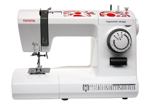 Toyota ECO 26C inc. Auto needle threader, 26 stitch patterns, drop in bobbin